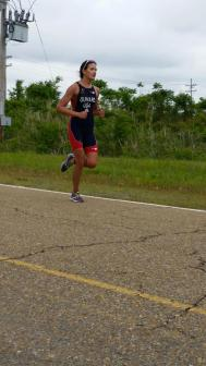 On the run in Memphis, not gonna lie, race faces are not pretty.