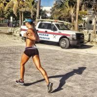 On the run at Lifetime South Beach